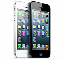 Apple iPhone 5 - 16GB 32GB 64GB - AT&T - Black & Slate - White - Good Condition
