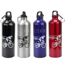 Outdoor Cycling Camping Mountain Bike Bicycle Aluminum Alloy Water Bottle 750ml