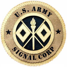 U.S Army Signal Corps Wall Tribute, U.S Army Signal Corps Hand Made Gift