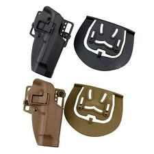 Tactical CQC Right Hand Waist Paddle Belt Loop Pistol Holster for Beretta M9 M92