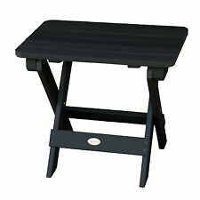 Phat Tommy Outdoor Recycled Poly Highwood Folding Side Table - Eco-Friendly