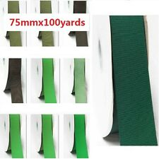 "Grosgrain Ribbon 3"" / 75mm Wide Wholesale 100 Yards, Discount, Lime to Green"
