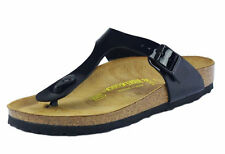Birkenstock Womens Gizeh Patent Toe Post Thong Style Sandal Ladies Summer Shoes