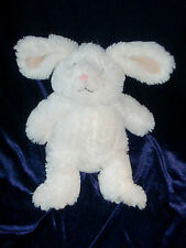 TARGET SWEET SPROUTS ANIMAL ADVENTURE STUFFED PLUSH OFF WHITE CREAM BUNNY FLUFFY