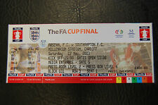 UNUSED TICKET 2003 FA CUP FINAL  ARSENAL V SOUTHAMPTON  MINT