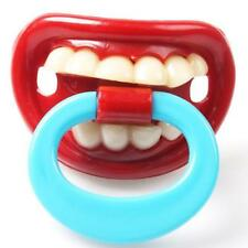 Funny Baby Child Lip Shape Dummy Pacifiers Prank Joke Maternity Toddler Prank H