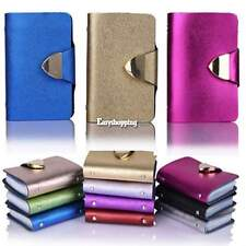 Synthetic Leather Business Case Wallet ID Credit Card Holder Purse 26Cards ES9P