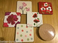 Pack of 4 Beautiful Various Drink  Coasters / Mats