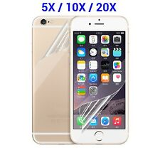 10x/5x Front Back HD Clear Screen Protector Film Cover for iPhone 6 6S Plus