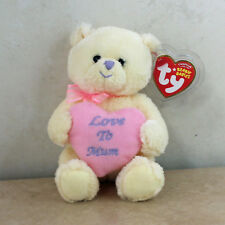 Ty Beanie Baby My Mum - MWMT (Bear UK Country Exclusive 2007) Mothers Day