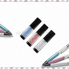 Crystal Touch Screen Ballpoint 2-32GB USB Flash Drive Memory Stick U Disk Gifts