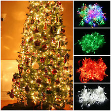 US 10m 20m String Fairy Light 100LED Christmas Wedding Party Xmas LED waterproof