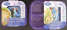 DISNEY FROZEN LUNCH KITS AND SANDWICH CONTAINERS SELECT:Lunch Kit or Sandwich