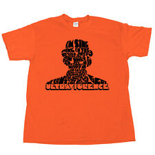 ULTRAVIOLENCE T Shirt Stanley Kubrick A Clockwork Orange Movie Tee Blu Ray DVD