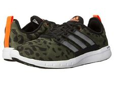 adidas ClimaCool LEAP Mens Athletic Shoes NEW Size 9-13 RUNNING Green Camo Black