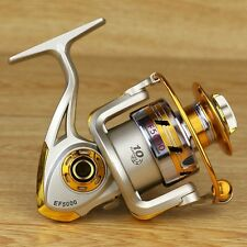 Sports Goods 10BB Ball Bearing Saltwater/ Freshwater Fishing Spinning Reel 5.5:1