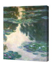 DecorArts Water Lilies by Monet Giclee Print Stretched Canvas Gallery Wrapped