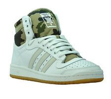 NEW adidas Top Ten Hi men's trainer White Casual sneaker transition sneaker