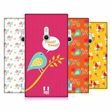 HEAD CASE DESIGNS BIRD PATTERNS HARD BACK CASE FOR NOKIA PHONES 2
