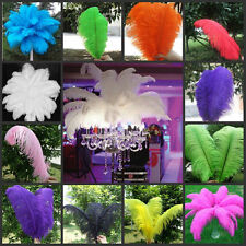 10-200pcs Quality Natural OSTRICH FEATHERS 20-22'inch/50-55cm