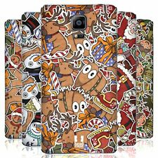 HEAD CASE DESIGNS CHRISTMAS PRINTS BATTERY COVER FOR SAMSUNG PHONES 1