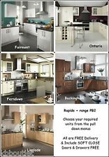 Super Kitchen Units Ontario Buckingham Ferndown Linslade Fairmont FREEBIES LQQK!