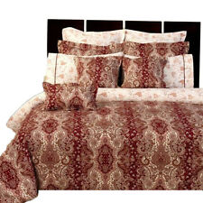 Hampton Reversible Combed Cotton Bedding Set (11-Piece, Full/Queen)