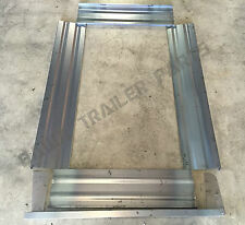 TRAILER PANEL KIT 1800x1200x320mm MILD STEEL! PERFECT FOR DIY KIT