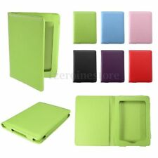 Fashion Ultra Thin PU Leather Slim Case Cover Protetion For Amazon Kindle Touch