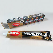 Autosol Solvol Metal Polish Perfection Easiest Shine Clean Protect Remove Rust