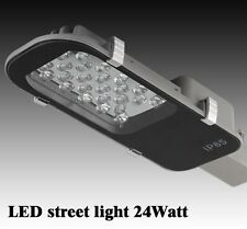 24W LED Road Street Flood Light IP65 Garden Spot Lamp Head Outdoor Yard Light