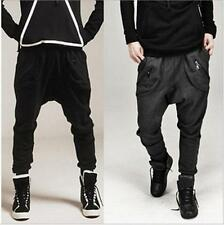 New Mens Boy Casual Baggy Harem Sweat Pants Hip-Hop Dance Sport Slacks Trousers