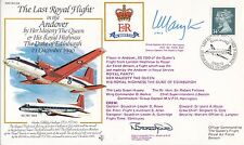 RV24c Last Royal Flight in the Andover of the Her Majesty The Queen & Duke