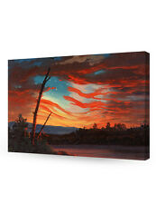 DecorArts-Our Banner in the Sky Frederic Edwin Church Classic Art Reproductions