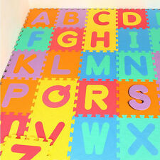 Lots pcs Kids Baby Alphabet Number Interlocking EVA Foam Floor Puzzle Play Mat