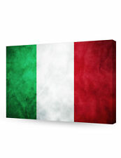 DecorArts-Italy Flag Giclee Canvas Prints for Home Wall Decor