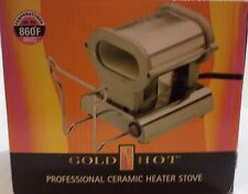 Gold 'N Hot Professional Ceramic Heater Stove Maintains 860c Degree Fahrenheit