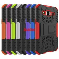 For Samsung Galaxy J2 3D 2-Layer Shock Skip Proof Grenade Rugged Impact Case