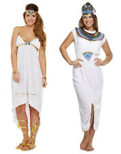 Adult Ladies Cleopatra Egypt Princess Queen Of The Nile Fancy Dress Sexy Costume