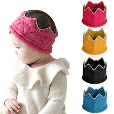Baby Hats Newborn Boys Girls Infant Hats Warm Kint Wool Winter Autumn Cap Crown