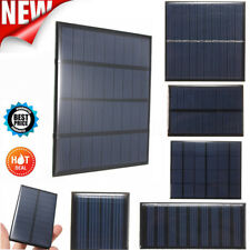 2/5/5.5/6/9V DIY Solar Panel Module System Toy For Battery Cell Phone Charger