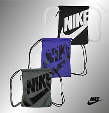 New Adults Genuine Nike Gym Printed Graphic Gymsack Bag Backpack L44 x W33cm