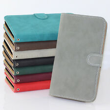 For Samsung Galaxy Note 2 II N7100 Matte Leather Flip Stand Wallet Case Cover