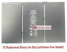 Replacement Internal Battery A1389 for All ipad 3g 3 3rd Gen 616-0591 616-0592