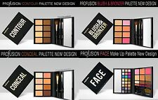 Profusion Make up Palette - Contour, Blush & Bronzer, Conceal and Face Palette