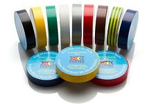 Boltstore Electrical PVC Insulating Tape Flame Retardant 19mmx20m 19mmx33m