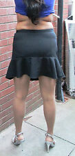 Sexy Little Black Micro Mini Skirt Hipster Tight Micro Mini Skirt Black Hipster