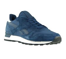 NEW Reebok Sneaker Trainers CL Leather Sneakers Mens-boots Trainers Leisure Blue