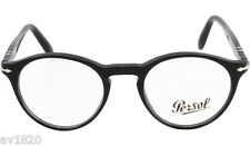 NEW PERSOL GENUINE SUPREMA FRAME PO3092V HAVANA BLACK 2 SIZES HAND MADE IN ITALY