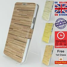 Wood Floorboard Pattern Wallet Phone Case Cover For Samsung Galaxy Note3